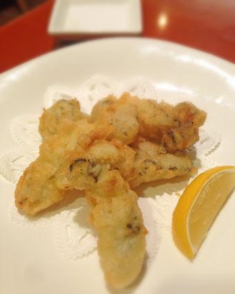 牡蠣のフリット