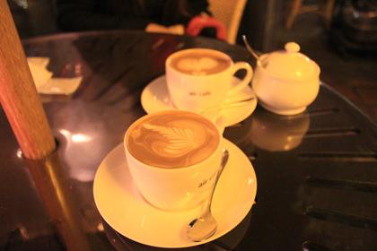 air cafeのカフェラテ