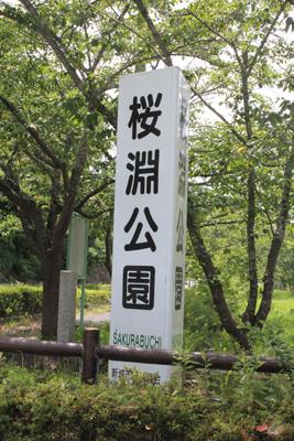 ワンコok 桜淵公園