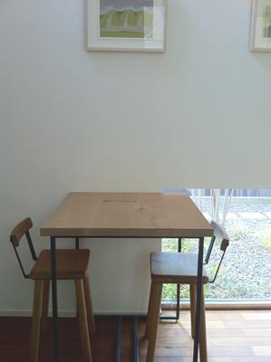 ドッグカフェSee Saw店内