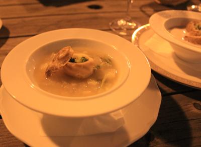 オンディーナのスープ