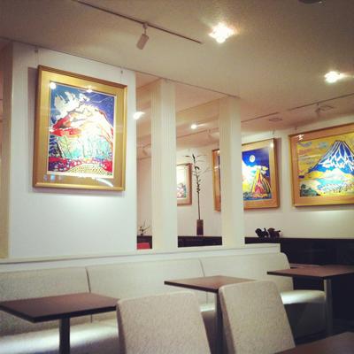 ドッグカフェ アートドッグカフェ・マリン店内