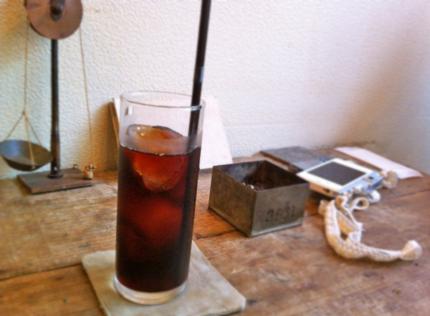 roti cafeのアイスコーヒー